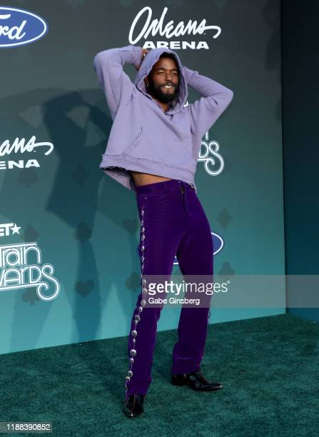 Luke James attends the 2019 Soul Train Awards at the Orleans Arena on November 17 2019 in Las Vegas Nevada