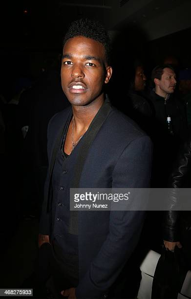 Luke James attends the Daniel Arsham x Chris Stamp Presentation during MADE Fashion Week Fall 2014 at Milk Studios on February 9 2014 in New York City