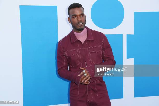 """Luke James attends The Premiere Of Universal Pictures """"Little"""" at Regency Village Theatre on April 08, 2019 in Westwood, California."""