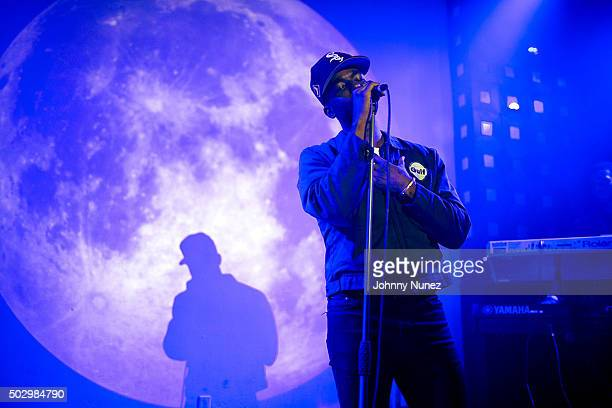 Luke James performs at S.O.B.'s on December 30 in New York City.