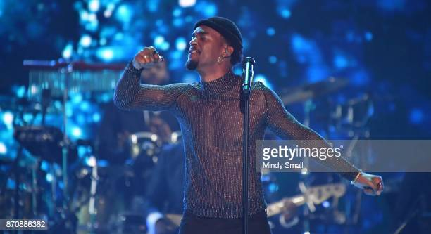 Luke James performs during the 2017 Soul Train Music Awards at the Orleans Arena on November 5 2017 in Las Vegas Nevada