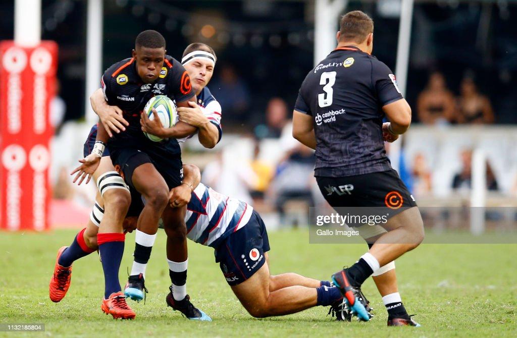 Super Rugby Rd 6 - Sharks v Rebels : News Photo