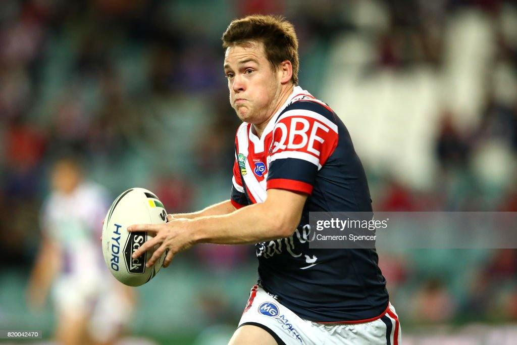NRL Rd 20 - Roosters v Knights : News Photo