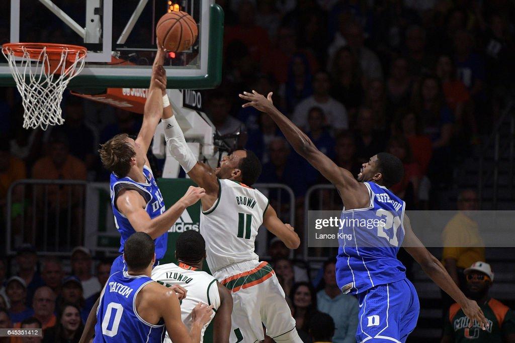 Duke v Miami