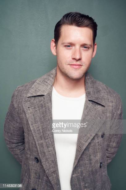 Luke Kleintank of the film 'Crown Vic' poses for a portrait during the 2019 Tribeca Film Festival at Spring Studio on April 26 2019 in New York City