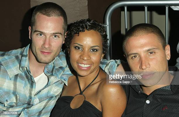 Luke Macfarlane Lizetter Carrion and Erik Palladino