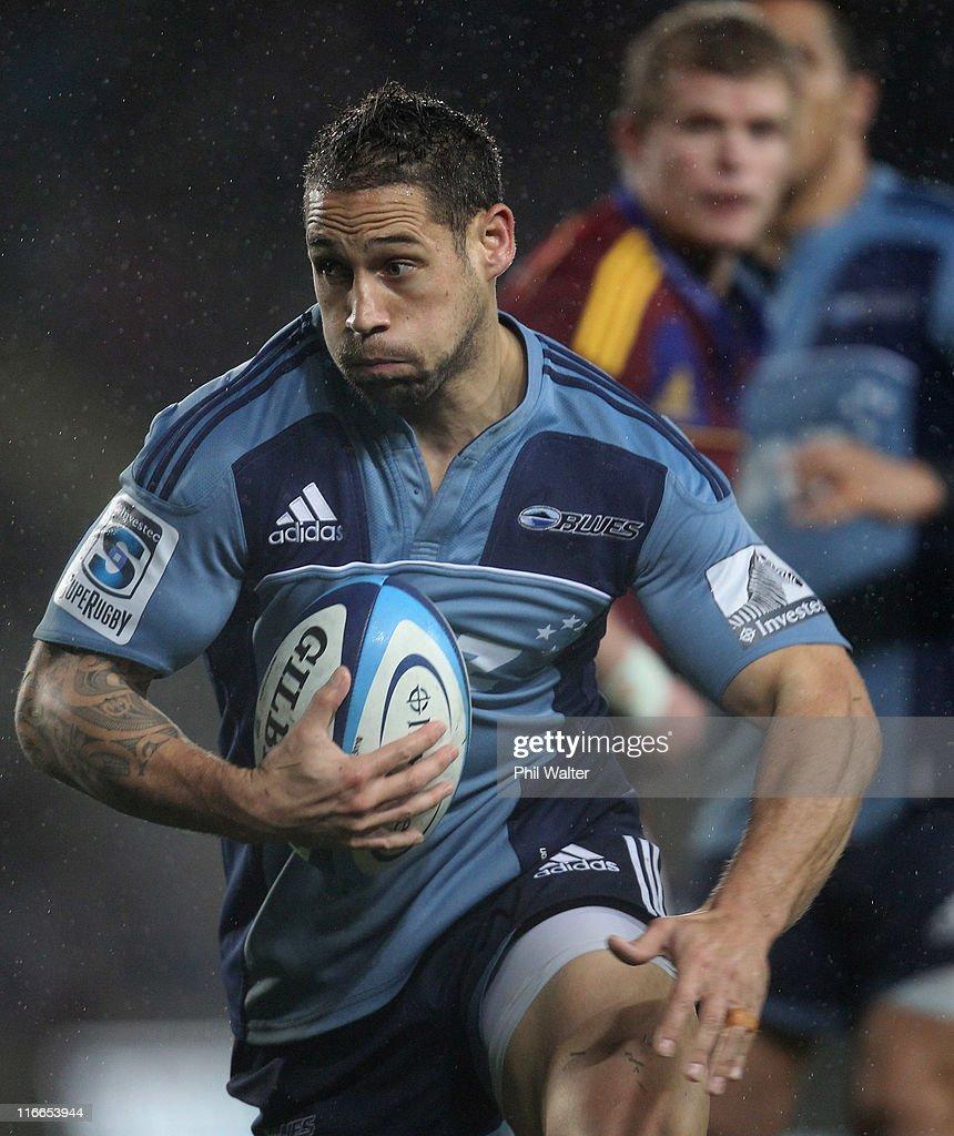 Super Rugby Rd 18 - Blues v Highlanders