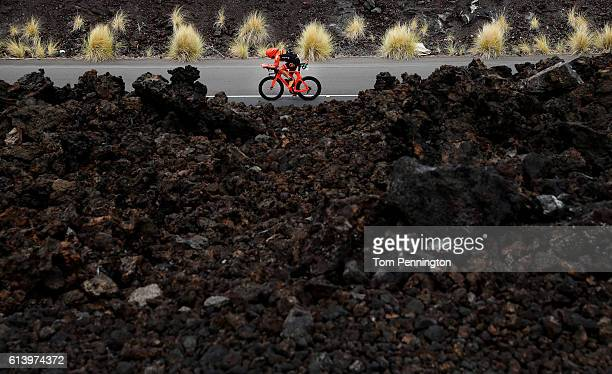 Luke McKenzie of Australia during the 2016 IRONMAN World Championship triathlon on October 8 2016 in Kailua Kona Hawaii
