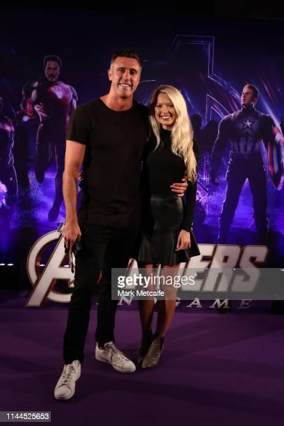 Luke Mcleod attends the Sydney screening of Avengers End Game at Hoyts Entertainment Quarter on April 23 2019 in Sydney Australia