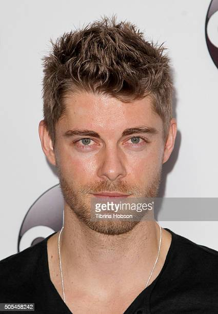Luke Mitchell attends the Disney/ABC 2016 Winter TCA Tour at Langham Hotel on January 9, 2016 in Pasadena, California.
