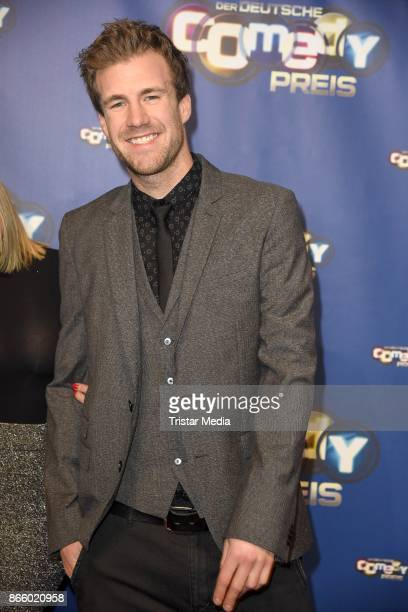 Luke Mockridge attends the German Comedy Awards at Studio in Koeln Muehlheim on October 24 2017 in Cologne Germany