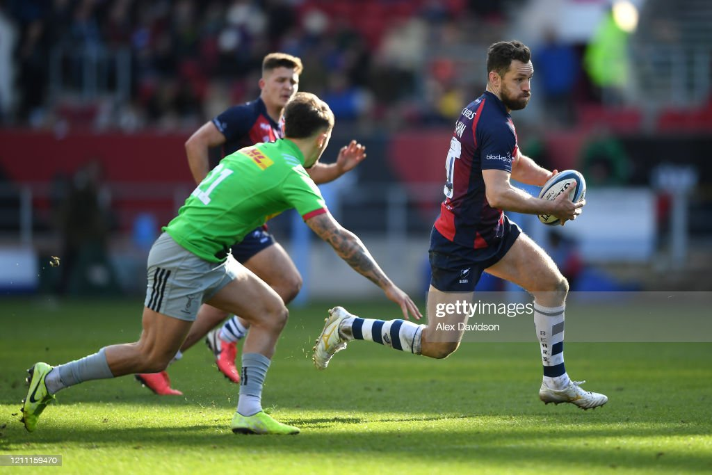 Bristol Bears v Harlequins - Gallagher Premiership Rugby : News Photo