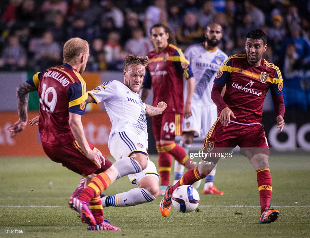 MLS Soccer - Los Angeles Galaxy v Real Salt Lake : News Photo