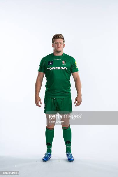 Luke Narraway of London Irish poses for a picture during the BT PhotoShoot at Sunbury Training Ground on August 27 2014 in Sunbury England