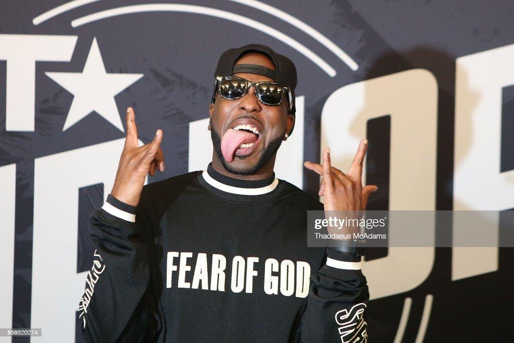DJ Luke Nasty attends BET Hip Hop Awards 2017 on October 6, 2017 in Miami Beach, Florida.
