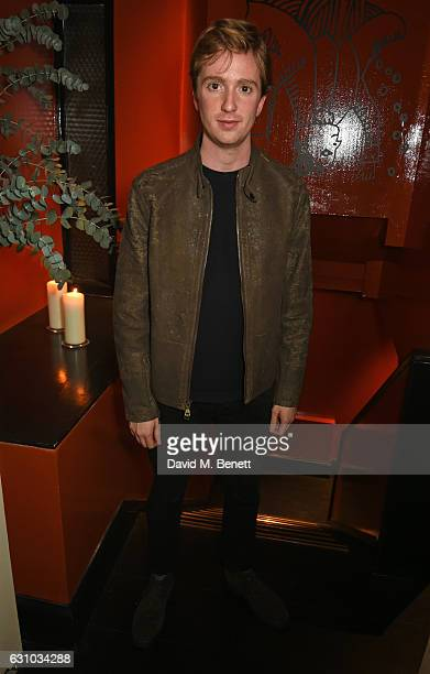 Luke Newberry attends a drinks reception hosted by Dame Vivienne Westwood and The British Fashion Council to celebrate London Fashion Week Men's at...