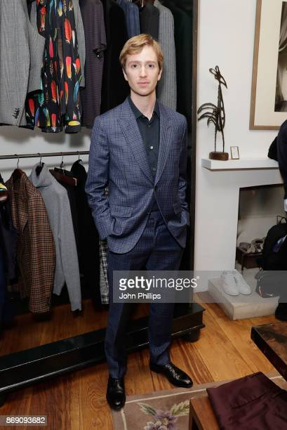 Luke Newberry attends an intimate evening hosted by Paul Smith The Gentleman's Journal to introduce the Paul Smith Bespoke By Appointment service on...