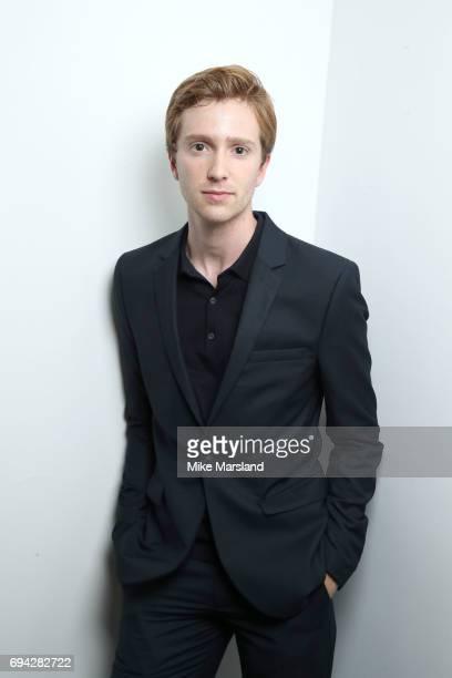 Luke Newberry attends London Fashion Week Men's June 2017 collections on June 9 2017 in London England