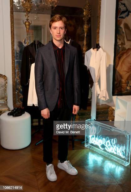 Luke Newberry attends Paul Smith Womens Tuxedo Launch at the Italian Embassy on November 28 2018 in London England