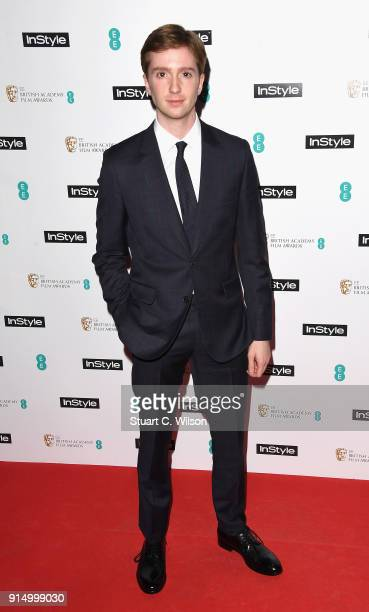 Luke Newberry attends the EE InStyle Party held at Granary Square Brasserie on February 6 2018 in London England