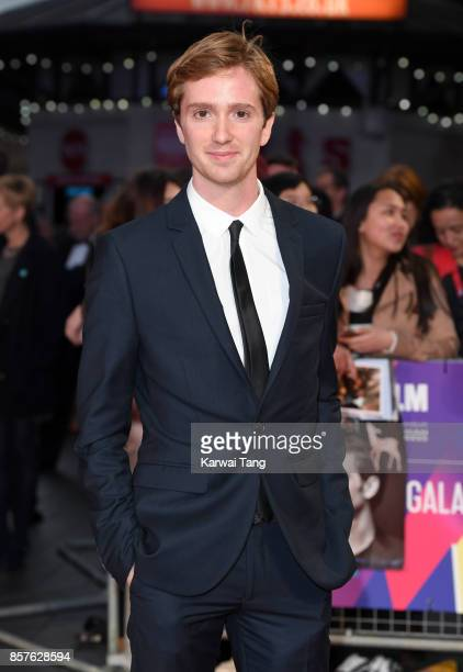 Luke Newberry attends the European Premiere of Breathe on the opening night Gala of the 61st BFI London Film Festival at the Odeon Leicester Square...