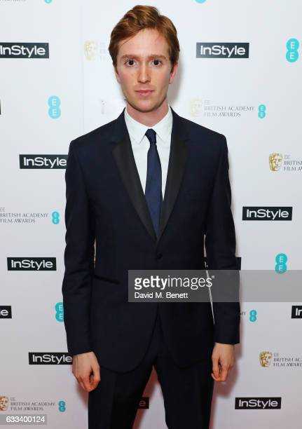 Luke Newberry attends the InStyle EE Rising Star Party ahead of the EE BAFTA Awards at The Ivy Soho Brasserie on February 1 2017 in London England