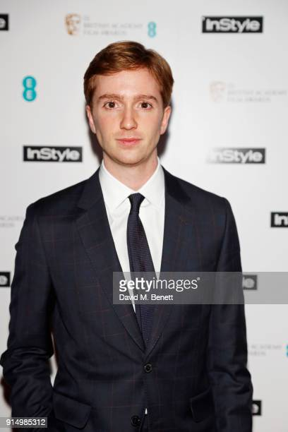 Luke Newberry attends the InStyle EE Rising Star Party at Granary Square on February 6 2018 in London England