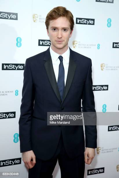 Luke Newberry attends the InStyle EE Rising Star Party at the Ivy Soho Brasserie on February 1 2017 in London England