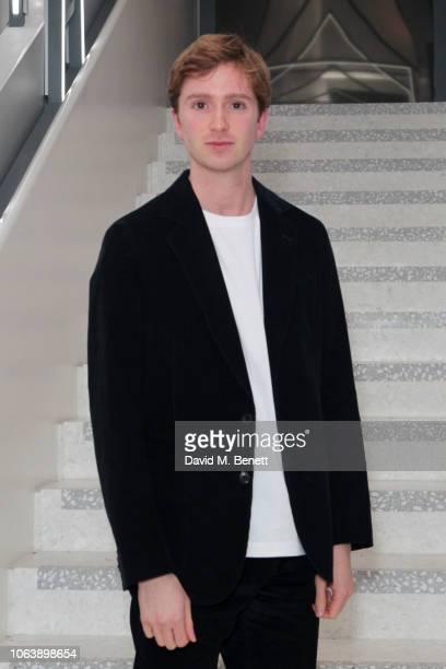 Luke Newberry attends the launch of new restaurant Brasserie Of Light at Selfridges on November 20 2018 in London England