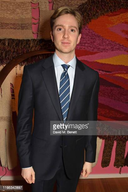 Luke Newberry attends the Vanity Fair EE Rising Star Award Party ahead of the 2020 EE BAFTAs at The Standard London on January 22 2020 in London...