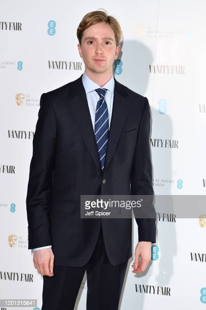 Luke Newberry attends the Vanity Fair EE Rising Star BAFTAs Pre Party at The Standard on January 22 2020 in London England