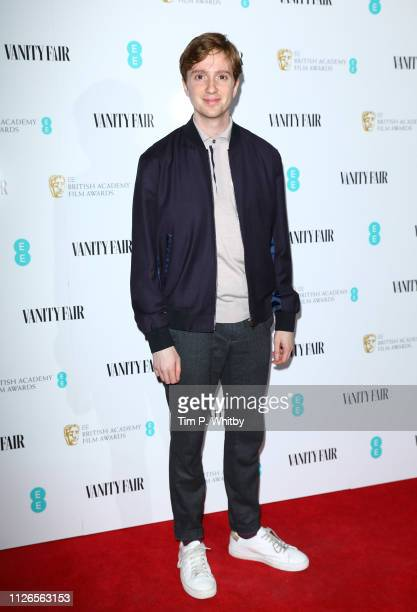 Luke Newberry attends the Vanity Fair EE Rising Star Party at The Baptist at L'oscar Hotel on January 31 2019 in London England