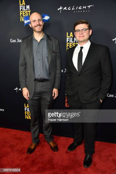 Luke Palmer Jonh Bickerstaff attend 2018 LA Film Festival Opening Night Premiere Of 'Echo In The Canyon' at John Anson Ford Amphitheatre on September...