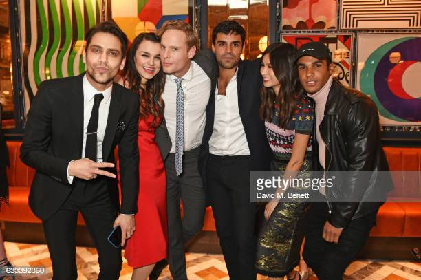 Luke Pasqualino Samantha Barks Jack Fox Sean Teale Gemma Chan and Lucien Laviscount attend the InStyle EE Rising Star Party ahead of the EE BAFTA...