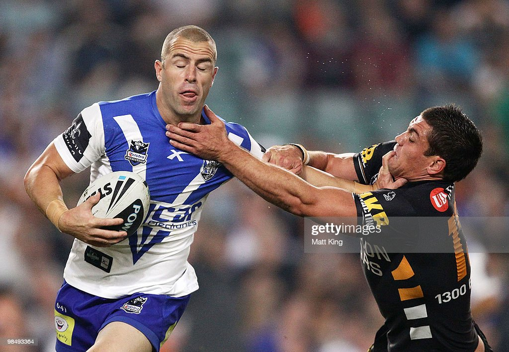 NRL Rd 6 - Wests Tigers v Bulldogs