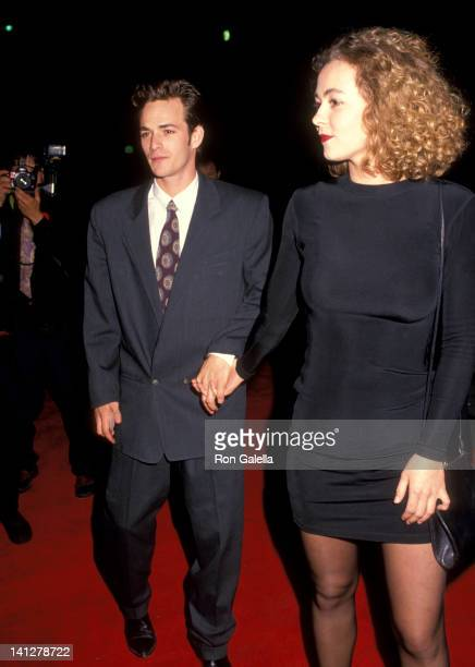 Luke Perry and Minnie Sharp at the 18th Annual People's Choice Awards Universal Studios Universal City