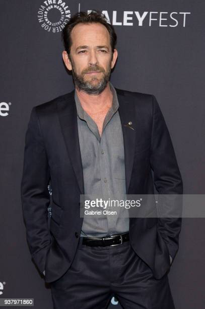Luke Perry arrives for the 2018 PaleyFest Los Angeles CW's Riverdale at Dolby Theatre on March 25 2018 in Hollywood California