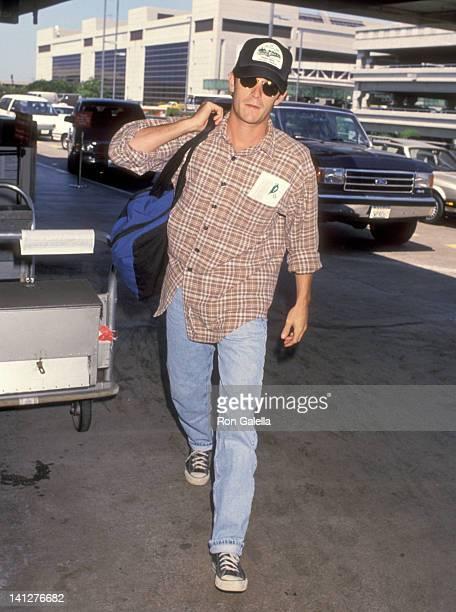 Luke Perry at Los Angeles International Airport Los Angeles