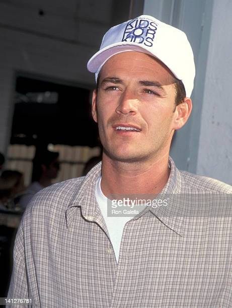 Luke Perry at the 2nd Annual Kids for Kids Family Carnival Benefit Elizabeth Glaser Pediatric AIDS Foundation Industria Superstudio New York City