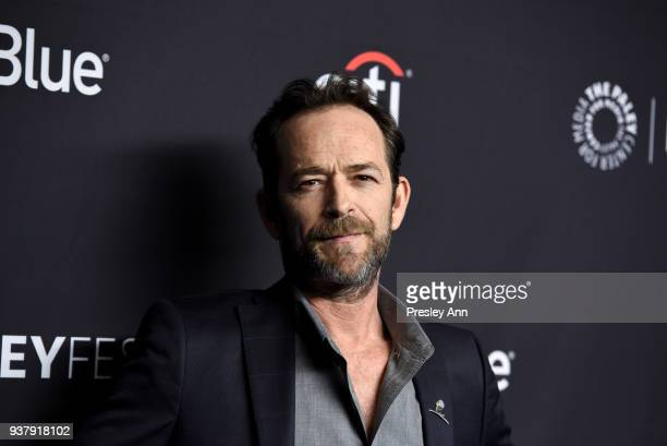 Luke Perry attends PaleyFest Los Angeles 2018 Riverdale at Dolby Theatre on March 25 2018 in Hollywood California