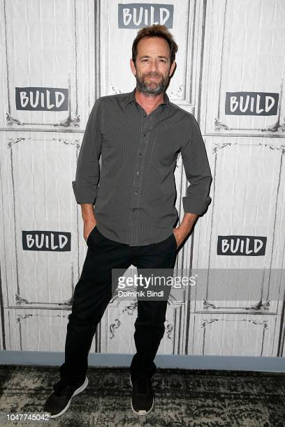 Luke Perry attends the Build Series to discuss Riverdale at Build Studio on October 8 2018 in New York City