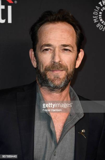 Luke Perry attends The Paley Center For Media's 35th Annual PaleyFest Los Angeles Riverdale at Dolby Theatre on March 25 2018 in Hollywood California
