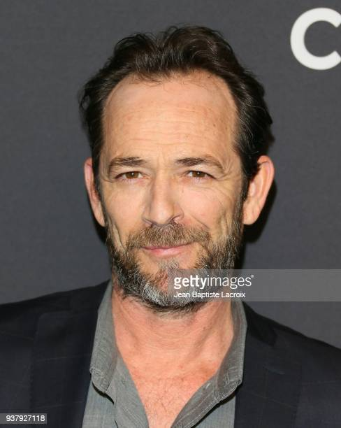 Luke Perry attends The Paley Center For Media's 35th Annual PaleyFest Los Angeles 'Riverdale' at Dolby Theatre on March 25 2018 in Hollywood...