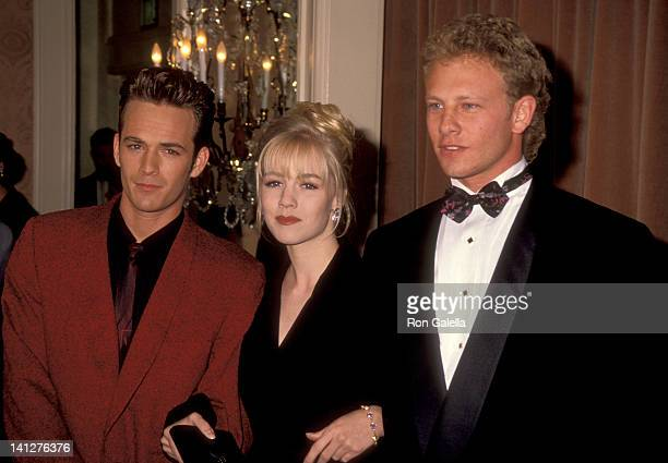 Luke Perry Jennie Garth and Ian Ziering at the 7th Annual Nancy Susan Reynolds Awards Regent Beverly Wilshire Hotel Beverly Hills