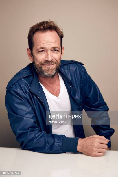 Luke Perry of CW's 'Riverdale' poses for a portrait during the 2018 Summer Television Critics Association Press Tour at The Beverly Hilton Hotel on...