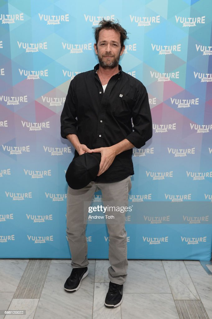 Luke Perry of Riverdale series attends the Vulture Festival at The Standard High Line on May 20, 2017 in New York City.