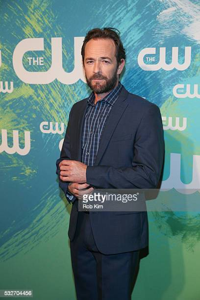 Luke Perry of the series Riverdale attends The CW Network's 2016 New York Upfront Presentation at The London Hotel on May 19 2016 in New York City