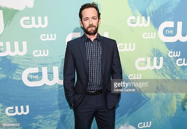 Luke Perry of the series 'Riverdale' attends The CW Network's 2016 New York Upfront at The London Hotel on May 19 2016 in New York City