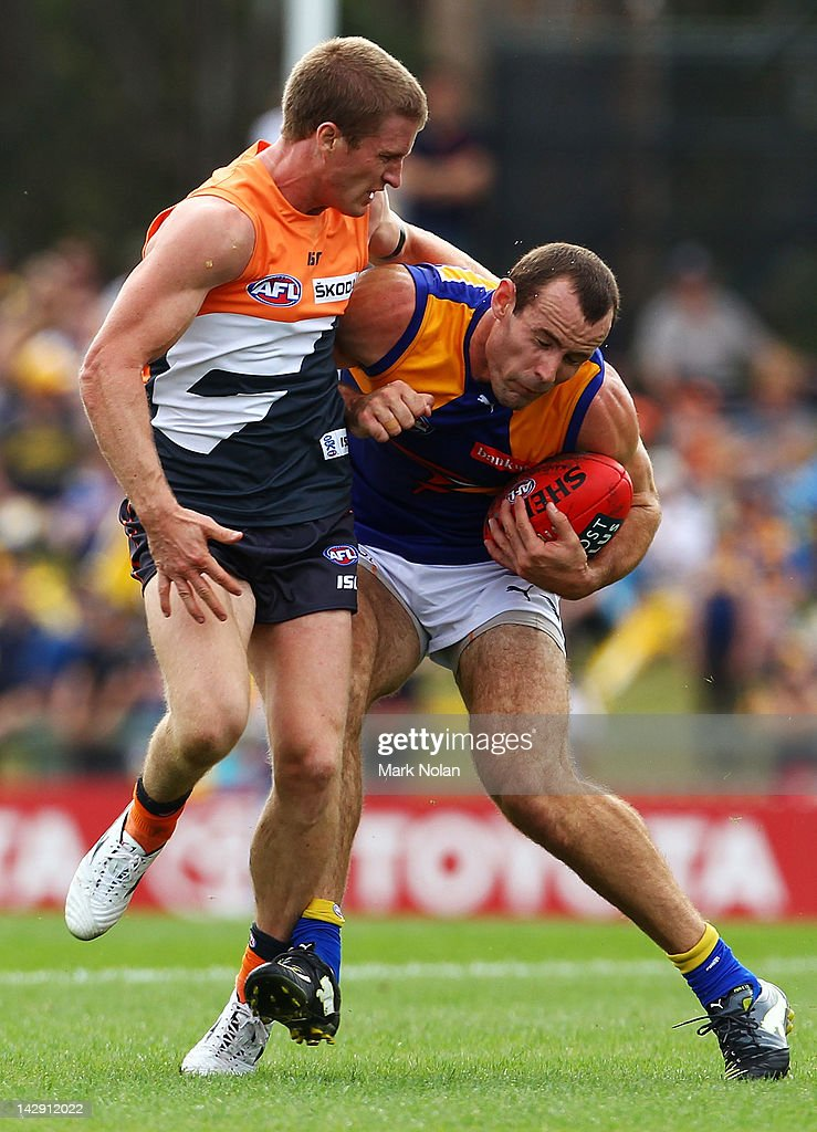 AFL Rd 3 - GWS v West Coast