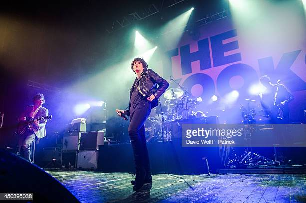 Luke Pritchard from The Kooks performs at Le Trianon on June 10 2014 in Paris France